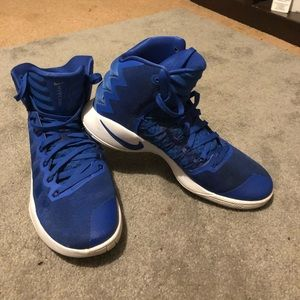 Nike Shoes - High top hyper dunks. Only worn once Perfect cond.
